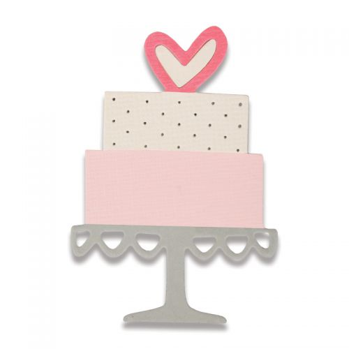 Sizzix Thinlits Die - Celebration Cake by My Life Handmade