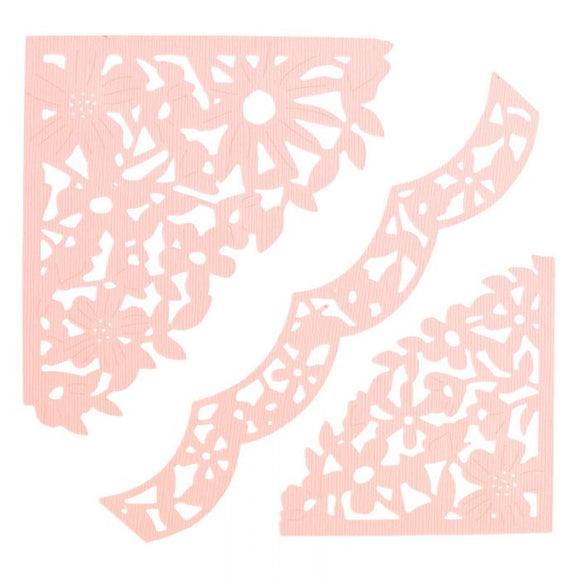 Sizzix Thinlits Die - Decorative Corners