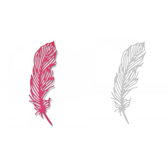 Sizzix Thinlits Die - Delicate Feather by Sophie Aguilar
