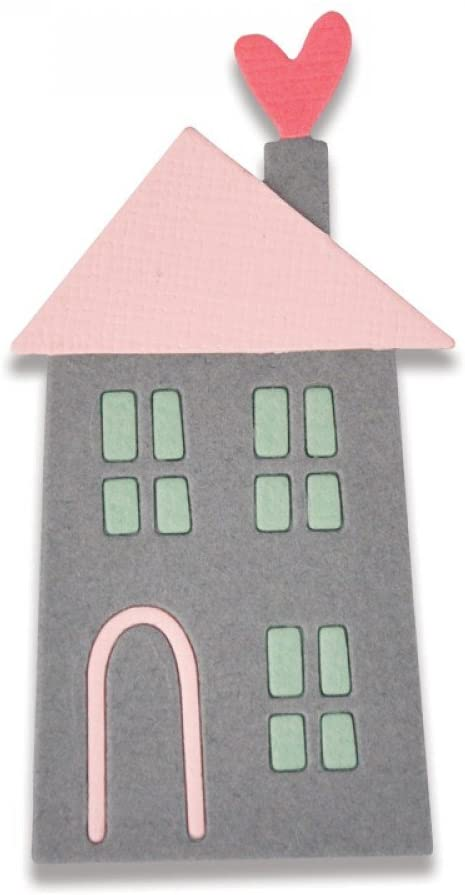 Sizzix Thinlits Die - Home Sweet Home #2 by My Life Handmade