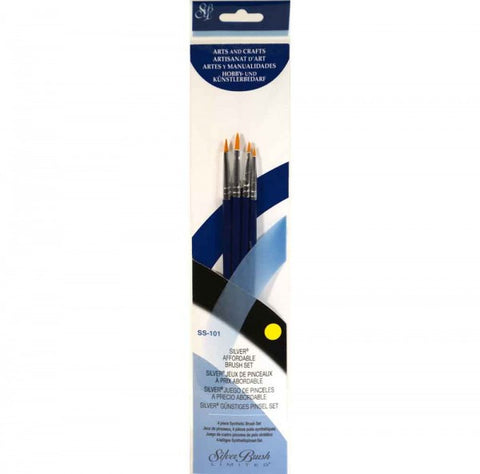 Silver Brush Sterling Studio 4-PC Value Set SS-101