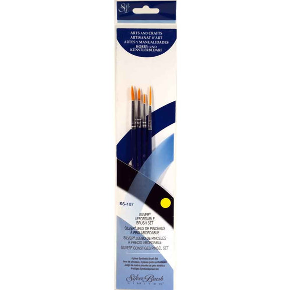Silver Brush Sterling Studio 4-PC Set