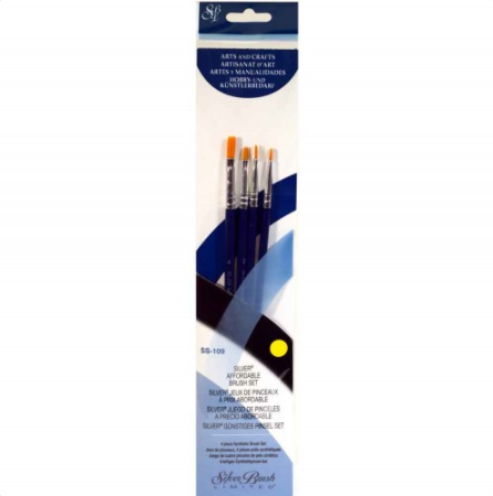 Silver Brush Sterling Studio 4-PC Value Set SS-109
