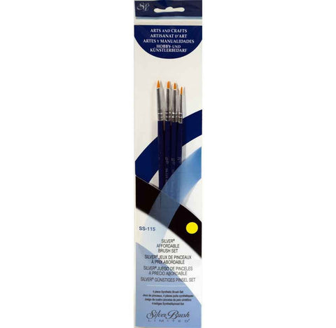 Silver Brush Sterling Studio 4-PC Value Set SS-115