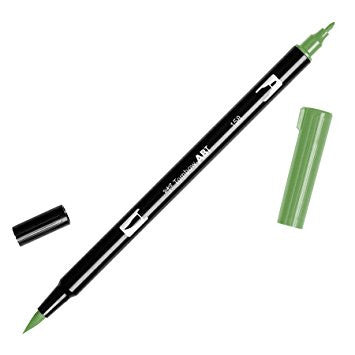Tombow ABT Dual Brush Pen - 158 Dark Olive
