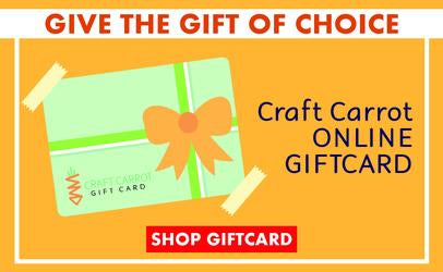 Craft Carrot Online Gift Card