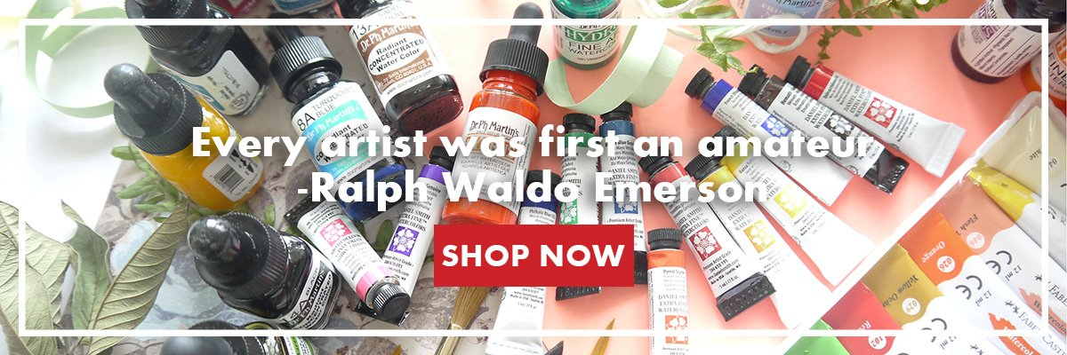 Shop Watercolor and Acrylic Paints at Craft Carrot