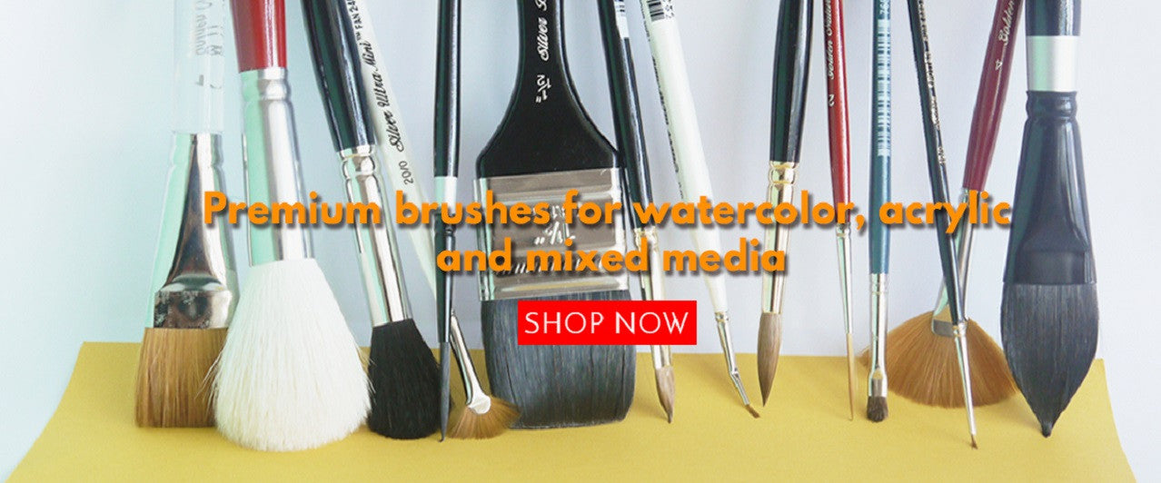 Shop Premium Paint Brushes at Craft Carrot