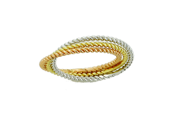 LEPOSA GOLD RING TRICOLOR 121/206