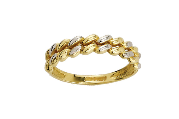 LEPOSA GOLD RING BICOLOR 121/207