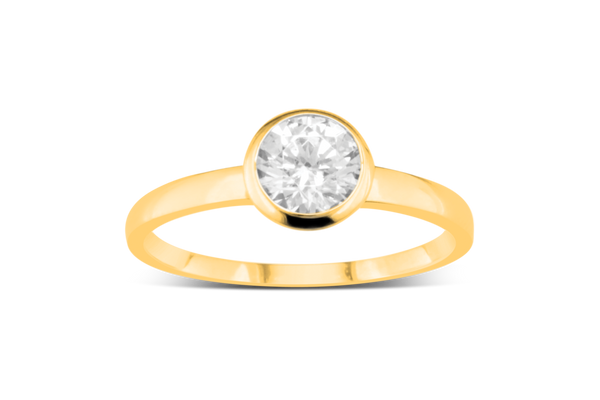 RING GELBGOLD 585