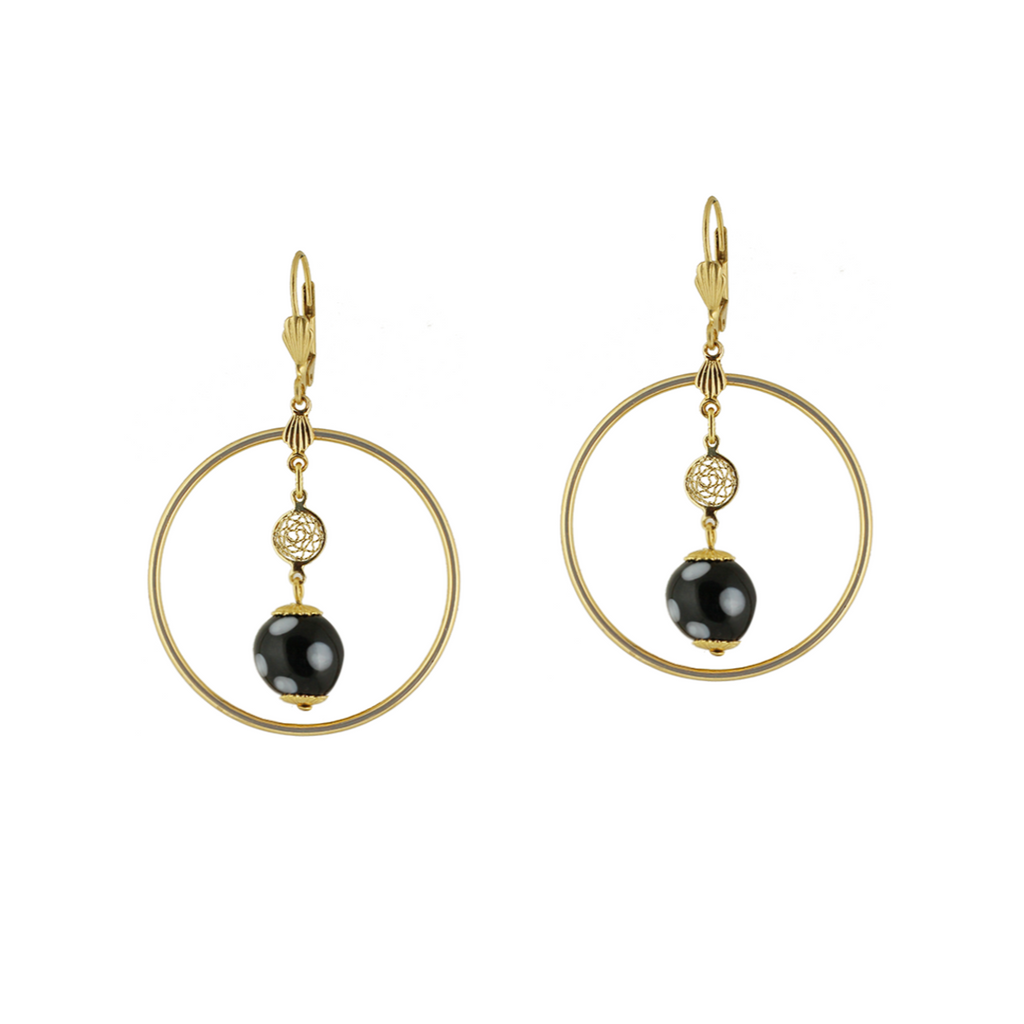 Adora Earrings|Gold Hoop Earrings| CV Collection