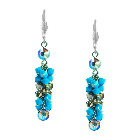 Blue Isis Earrings