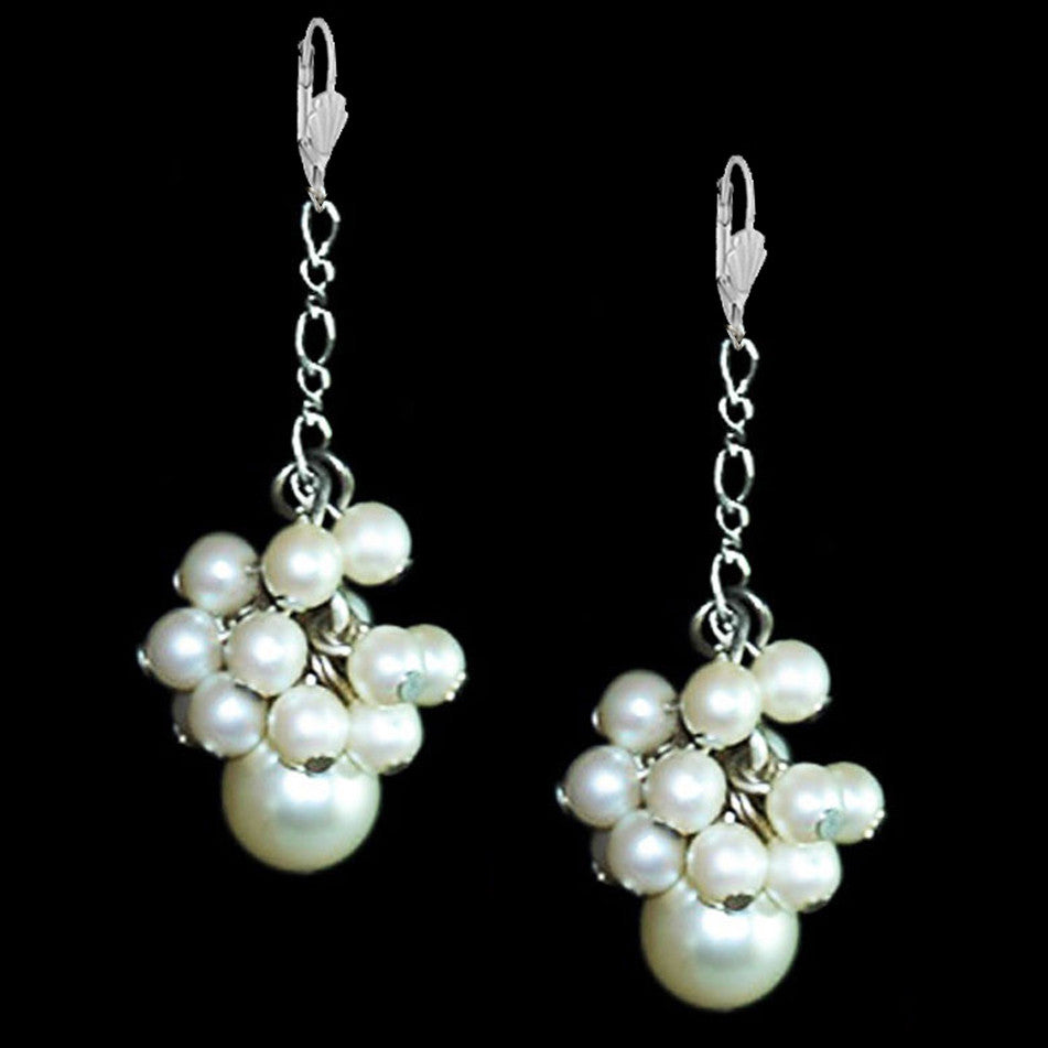 Pearls in Love Earrings