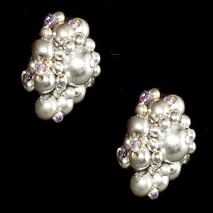 Silver Bud Earrings