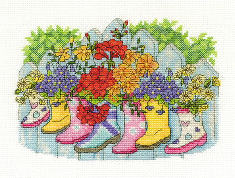 Blossoming Wellies