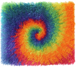Wonderart Shaggy Kit - Small Tie Dye
