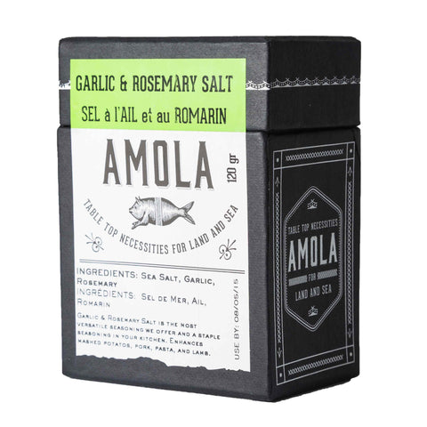 Amola Garlic & Rosemary Salt HK$100