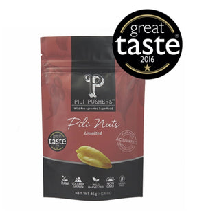 Pili Pushers Unsalted Pili Nuts 45g Crafted 852 Hong Kong