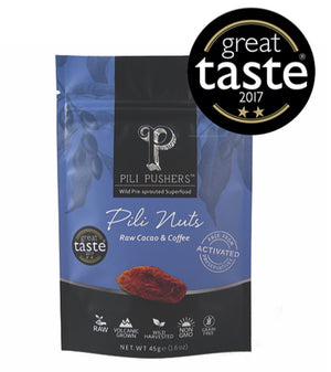 Pili Pushers Raw Cacao & Coffee Pili Nuts 45g