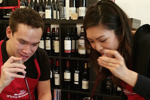 Eddie Mcdougall CRAFTED 852 Wine Blending Experience