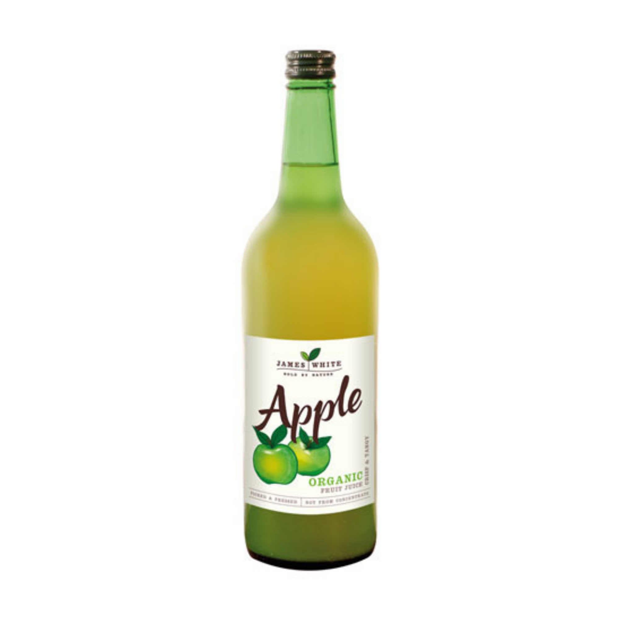 JW Organic Apple Juice - 750ml x 6