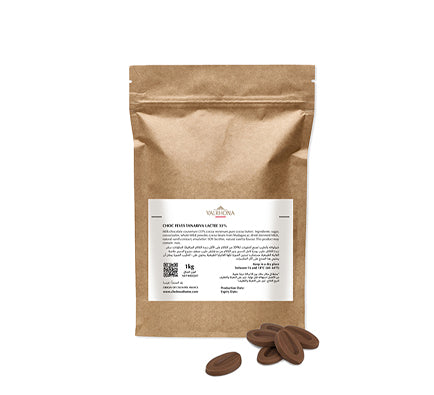 Milk Chocolate Feves Tanariva 33% - 1kg