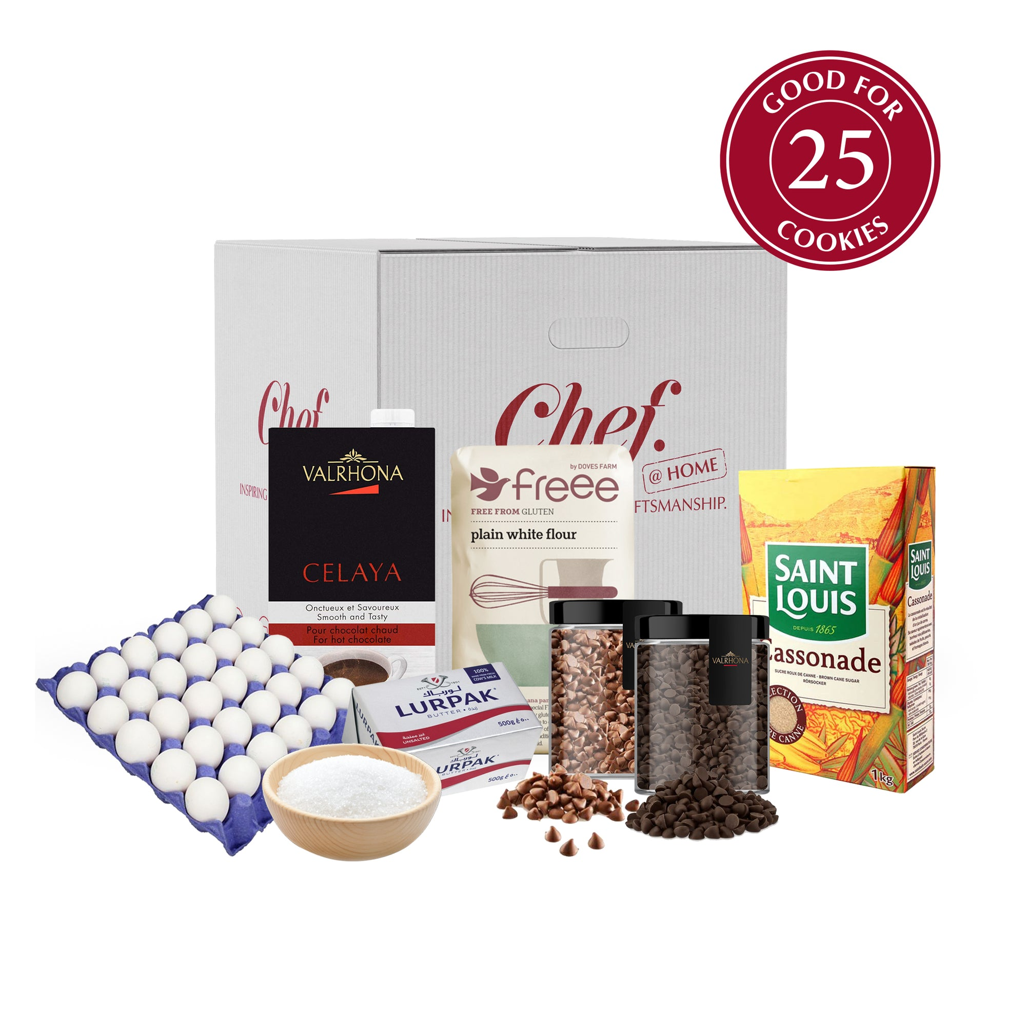 Gluten Free Cookies and Hot Chocolate Kit