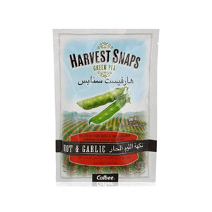 Harvest Snaps Green Pea Hot & Garlic - 93g