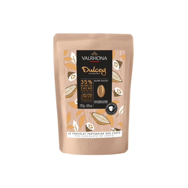 Chocolate Feves Dulcey 35% Baking Bag - 250g
