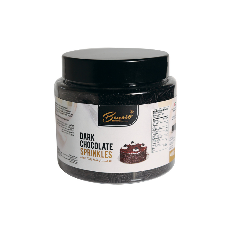 Dark Chocolate Sprinkles - 100g