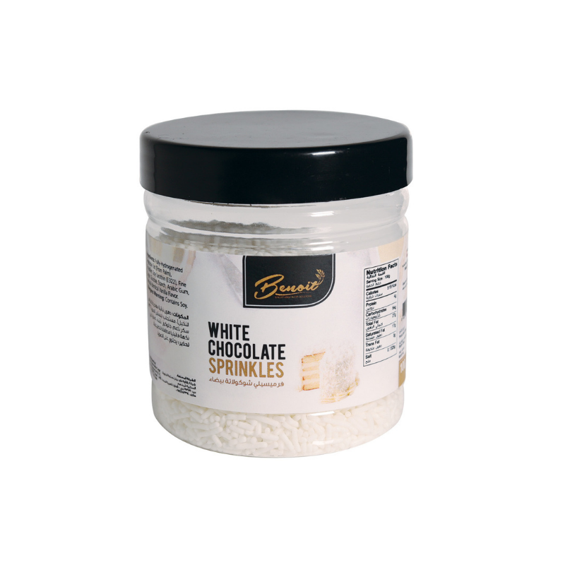 White Chocolate Sprinkles -100g