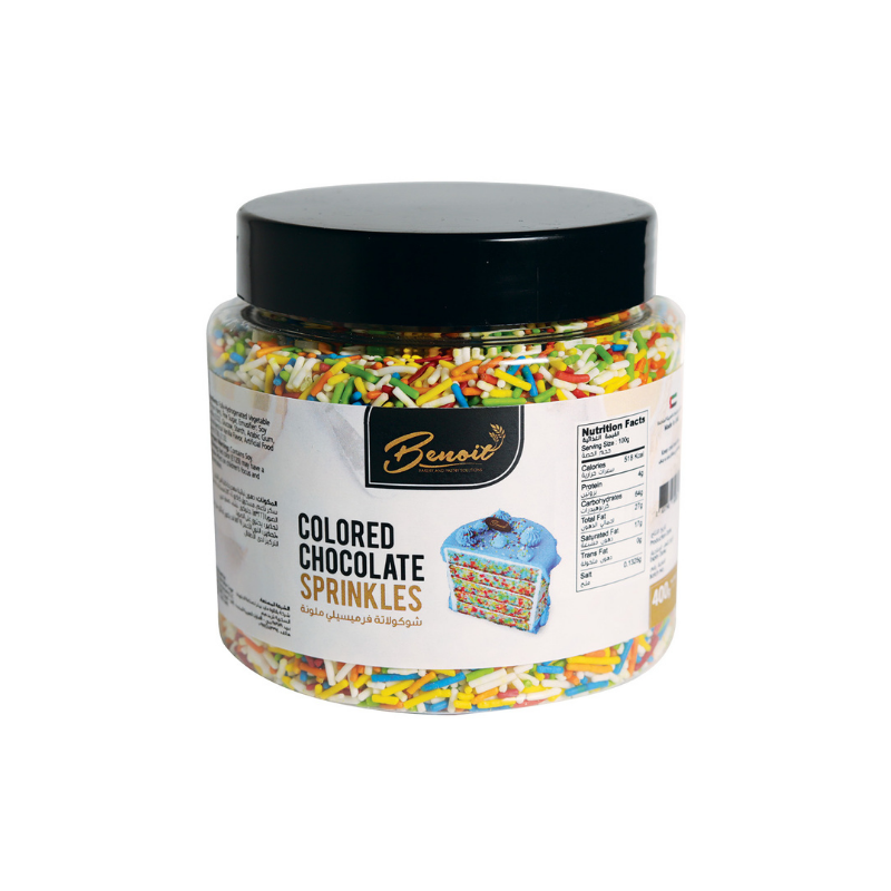Coloured Chocolate Sprinkles - 100g