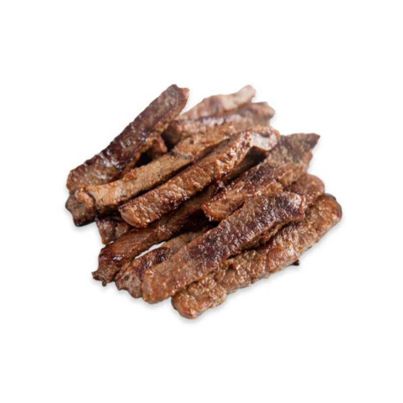 Slow Cooked Beef Strips - 500g