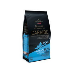 Dark  Chocolate Feves Pur Caraibe 66%
