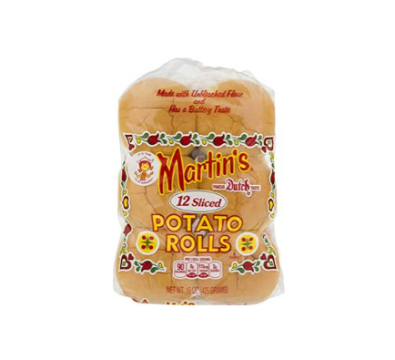 Martin's Sandwich Potato Rolls - 12pcs