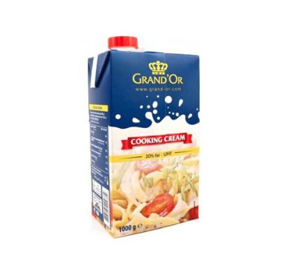 Grand'Or Cooking Cream 20% - 1Ltr