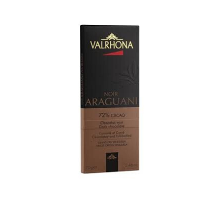 Dark Chocolate Tablet Grand Cru Araguani 72% - 70g
