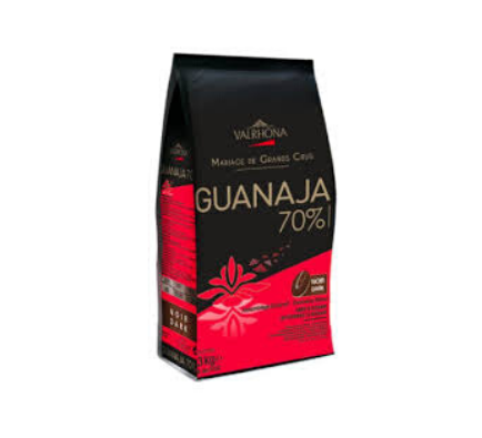 Dark Chocolate Feves Guanaja 70% - 3kg