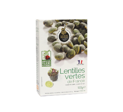 Green Lentils Dried Du Puy - 500g