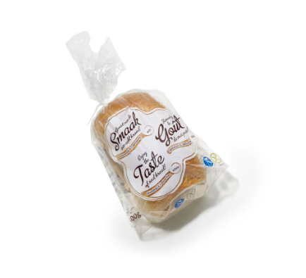 Bread Loaf White Gluten/ Lactose Free - 500g x 5