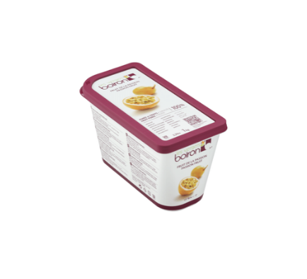 Passion Fruit Puree (No Added Sugar) - 1kg