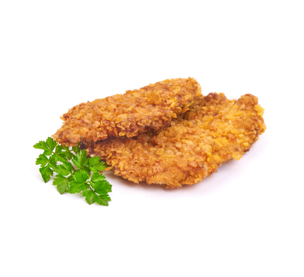 Cooked Crispy Chicken Breast - 2kg