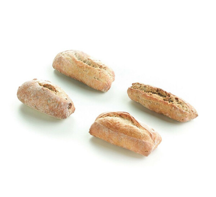 Small Box - Mini Assorted Rustic Wheat Rolls - 40g x 20