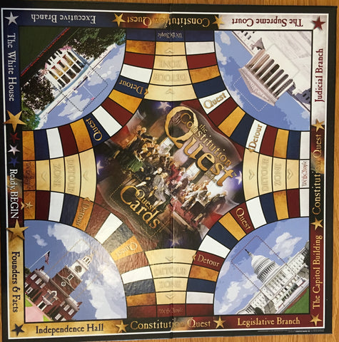 Constitution Quest Board Game