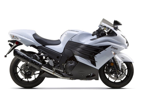 Two Brothers - Kawasaki ZX-14R (2012-2018) Dual M2 Black Carbon Slip-On Exhaust