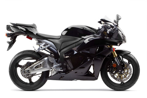 Two Brothers - Honda CBR600RR (2007-2012) M2 Black Aluminium Full Exhaust