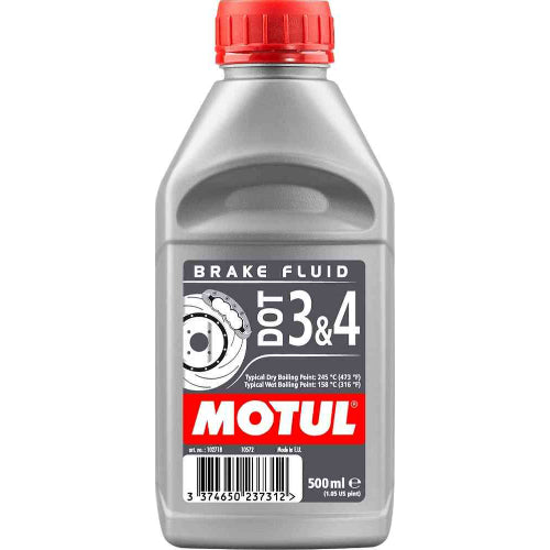 Motul - DOT 3 & 4 Brake Fluid
