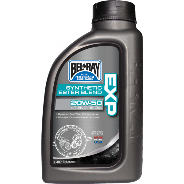 Bel Ray - EXP Synthetic Ester Blend 4T Engine Oil 20W-50