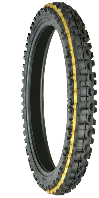 Mitas C-21: COMPETITION Front Tyre for Intermediate to Hard Terrain